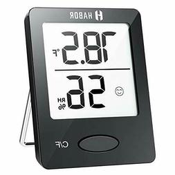 Habor Hygrometer Indoor Thermometer, Humidity Gauge Room 1 p