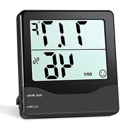 ORIA Hygrometer Thermometer, Indoor Temperature and Humidity