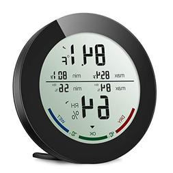 ORIA Digital Hygrometer Thermometer, Indoor Thermometer Humi