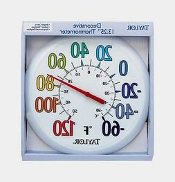 "Taylor 6714 13-1/4"" Color Track Thermometer"