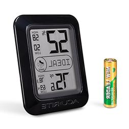 Indoor Gauge Humidity Monitor Weather Temperature Thermomete
