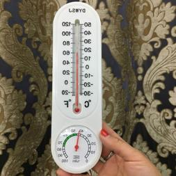 Indoor or Outdoor Vertical Thermometer and Hygrometer Classi