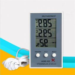 Indoor Outdoor Digital LCD Humidity Hygrometer Thermometer M