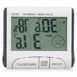 TRIXES Indoor/Outdoor Digital LCD Thermometer and Hygrometer