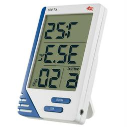 INDOOR OUTDOOR DIGITAL LCD THERMOMETER HYGROMETER IDEAL FOR