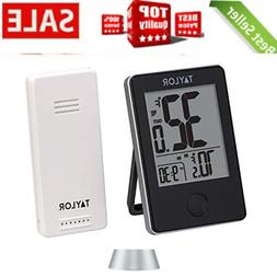 Indoor/Outdoor Digital Thermometer with Remote Sensor by TAY