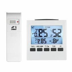 Indoor/Outdoor LCD Digital Thermometer Hygrometer Temperatur