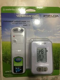 AcuRite indoor outdoor thermometer Wireless Good To -40 Deg.