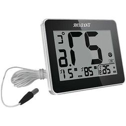 TAYLOR Indoor-Outdoor Thermometer with Wired Probe #07778402