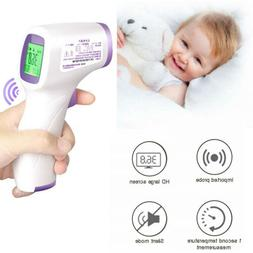 Infrared Digital Baby Adult Forehead Thermometer No Touch Te