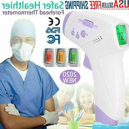Infrared Digital Forehead Thermometer No-Contact Baby Adult