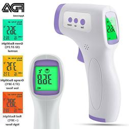 Infrared Thermometer Forehead FDA APPROVED CE No-Touch Adult
