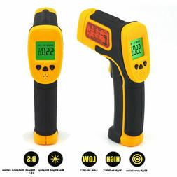 Infrared Thermometer LCD Display No-contact Digital Thermome