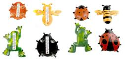 Insect Frog Shape Window Thermometer W/ Suction Cups Indoor