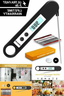 Instant Read Cooking Meat Kitchen Thermometer For Food Bakin