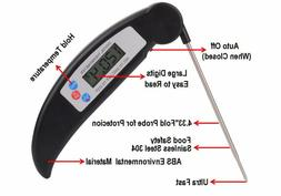 Instant Read Digital BBQ Thermometer Kitchen Food Probe Meat