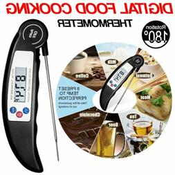 Instant Read Digital Meat Probe Thermometer Grill Oven Kitch