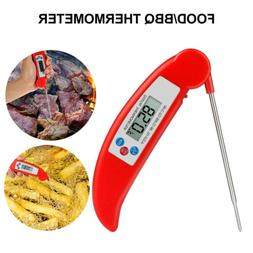 Instant Read Digital Meat Thermometer Probe Grill Oven Kitch