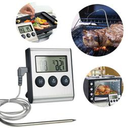 instant read meat probe thermometer digital cooking
