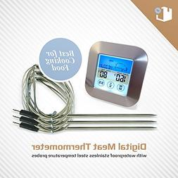 Color Instant Read Digital Meat Thermometer | 3 Waterproof S