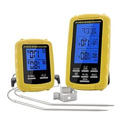 Instant Read Wireless Digital Cooking Food Meat Thermometer