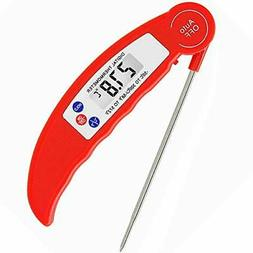 Internal Meat Thermometer Long Probe Instant Read Fast Therm