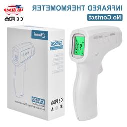 IR Infrared Digital Forehead fahrenheit Non Contact Thermome