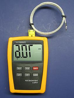 K-type Scientific Digital Thermometer DM6801 with high tempe
