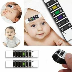 Kids Baby Child Forehead Head Strip Thermometer Fever Temper