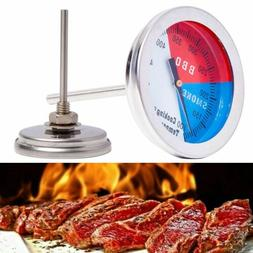 Stainless Steel Temperature Gauge Thermometer for Barbecue B
