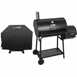 "Royal Gourmet 30"" BBQ Charcoal Grill Offset Smoker CC1830F w"
