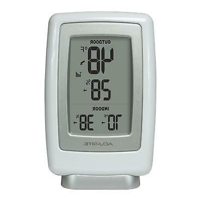 AcuRite 00611A3 Indoor/Outdoor Thermometer and Humidity