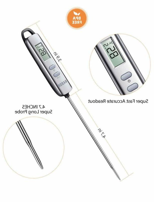 Habor022 Thermometer Instant Read Cooking w/ Super
