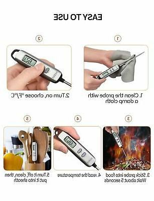 Habor 022 Meat Instant Read Thermometer Cooking Thermome...