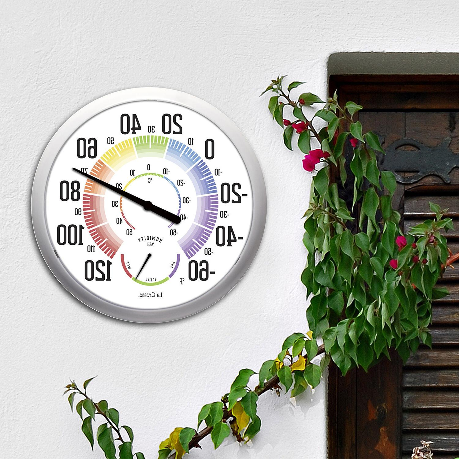 104-1534A La Crosse Round Dial Thermometer with