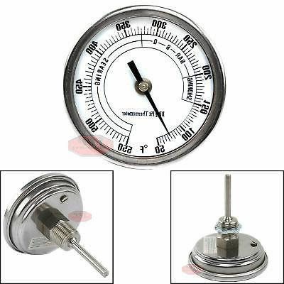 3 bbq pit grill thermometer cooking dial