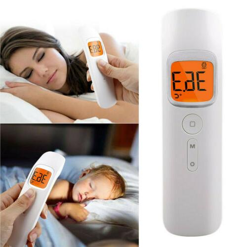 Medical Digital Infrared Forehead Fever Gun Thermometer Non-