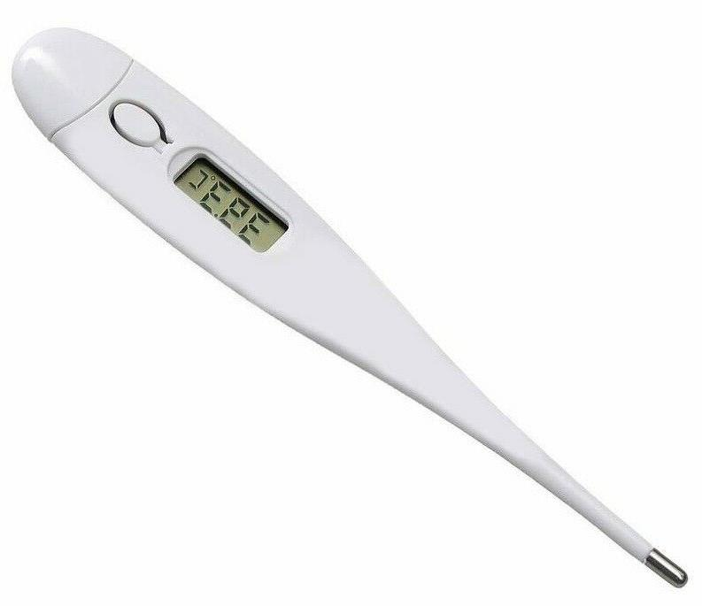 digital thermometer 4 digit display for oral