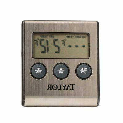 Taylor Digital Refrigerator Freezer Thermometer 1448