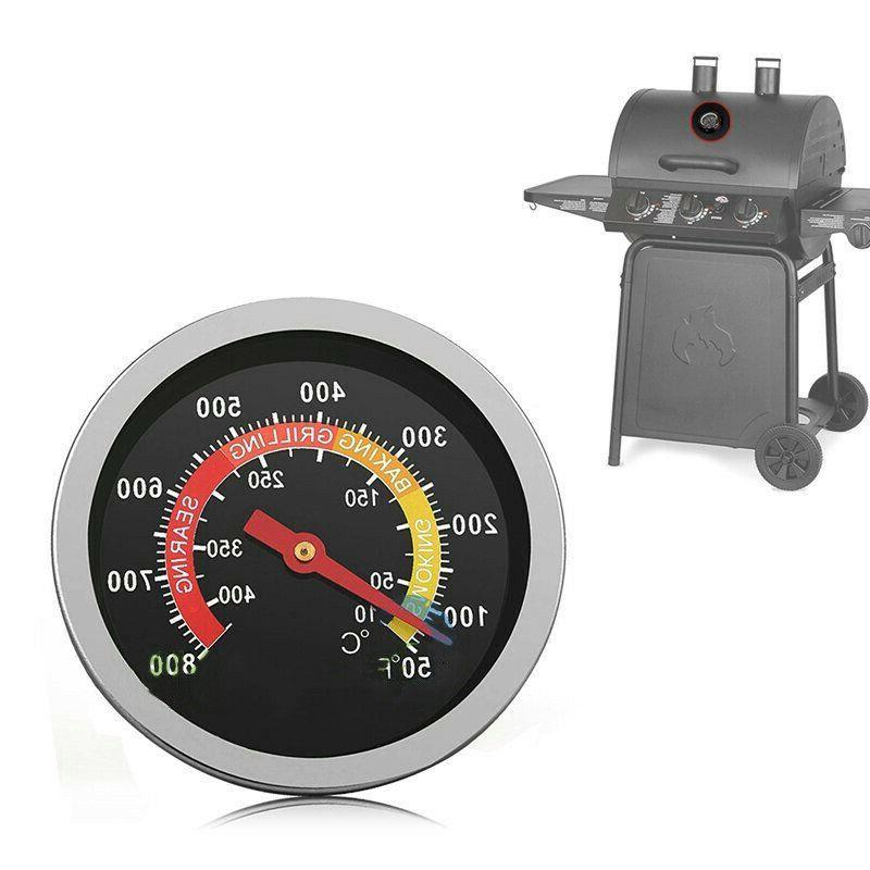 50-800℉ Barbecue Thermometers Grill Cooking Temp Gauge