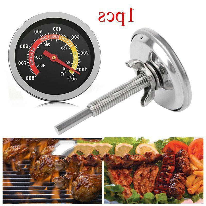50-800℉ Stainless Steel Barbecue Oven Cooking Gauge