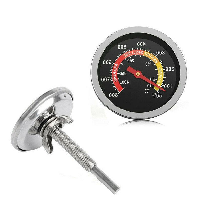 50-800℉ BBQ Barbecue Thermometers Oven Cooking Temp