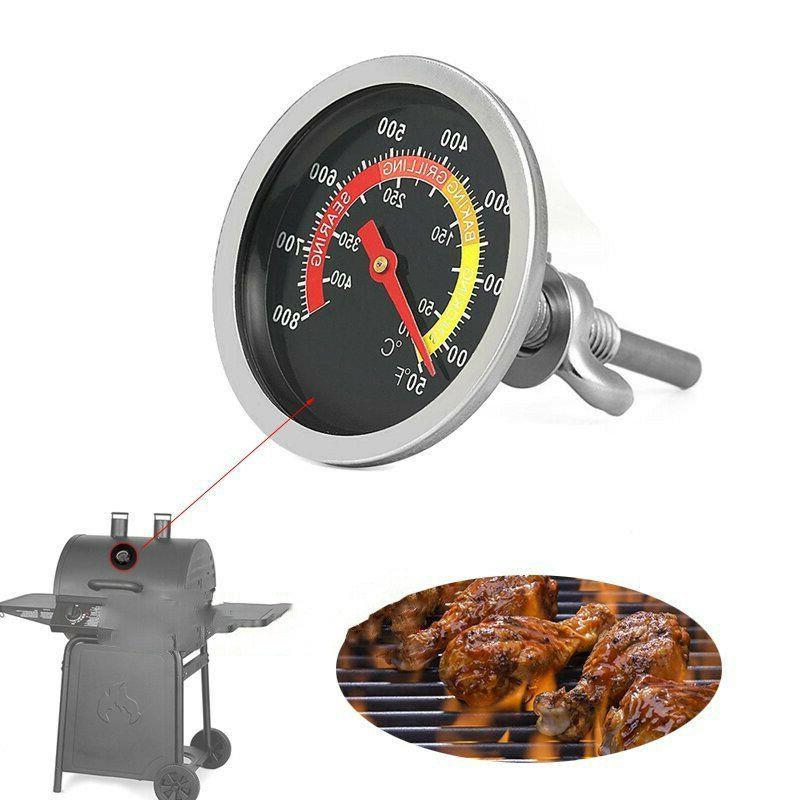 50 800 stainless steel bbq barbecue thermometers