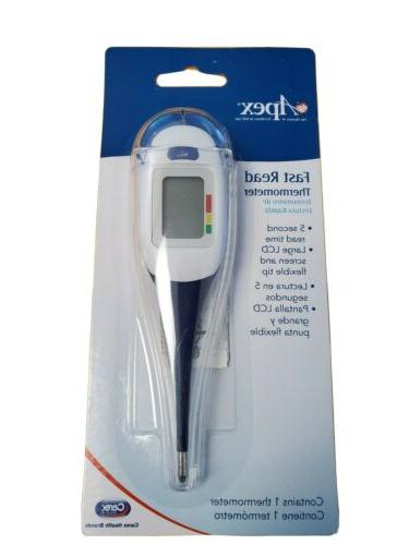 Apex 70256 LCD Digital Thermometer Read