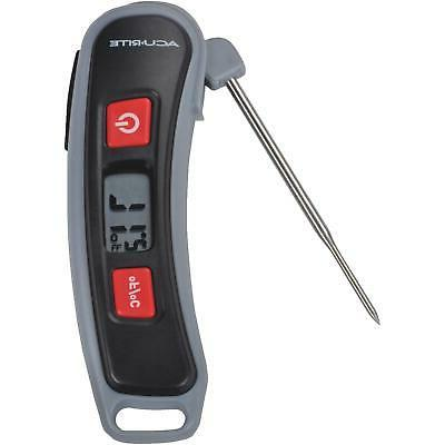 AcuRite 00665E Digital Instant Read Thermometer with Folding