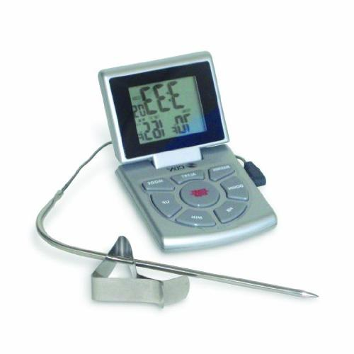 CDN DTTC-S Combo Probe Thermometer, Timer & Clock - Silver