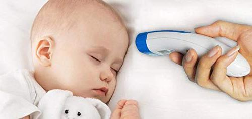 Easy@Home Forehead Thermometer for Non-contact 3 Modes for Baby Adult and Child,