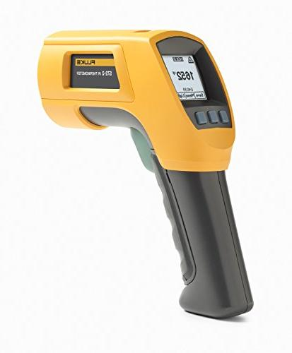Fluke 572-2 High-Temperature Infrared Thermometer with Dual