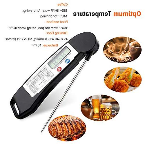 GDEALER Read Folding Temperature Guide Kitchen Candy BBQ Grill Fry