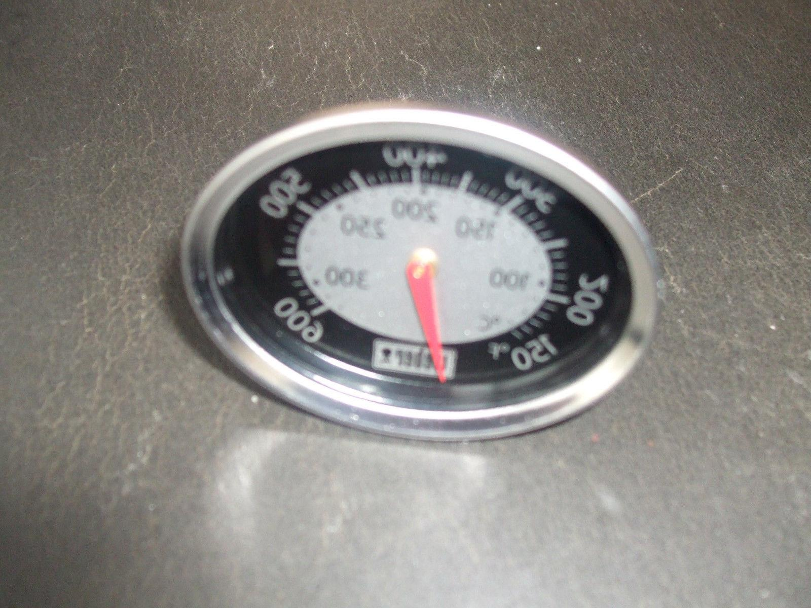 Genuine Weber Gas Grill Oval Thermometer Q1200 Temperature G